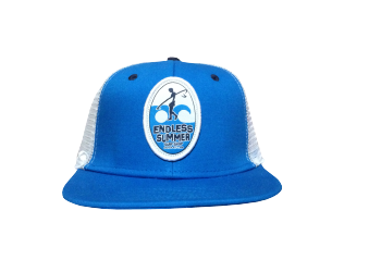 endless summer blue snap back with OC logo