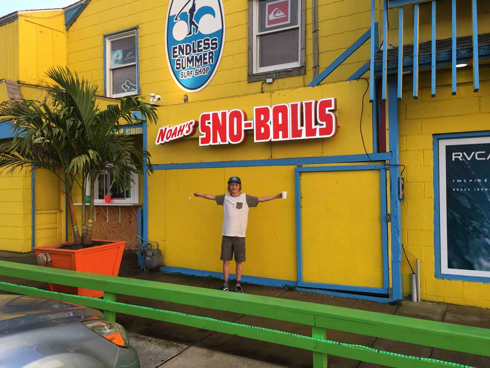 0f4d2dc452ba New addition to Endless Summer Surf Shop- NOAH'S SNO-BALL SHACK!