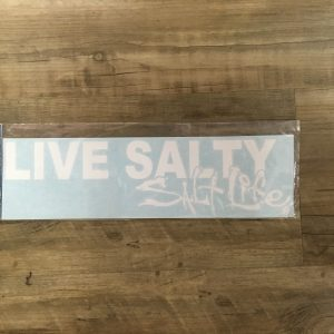 endless summer white live salty sticker