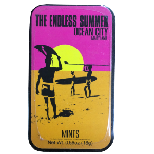 endless summer mint box with surfers