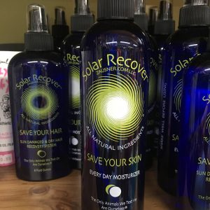 bottles of solar recover everyday moisturizer surf supplies